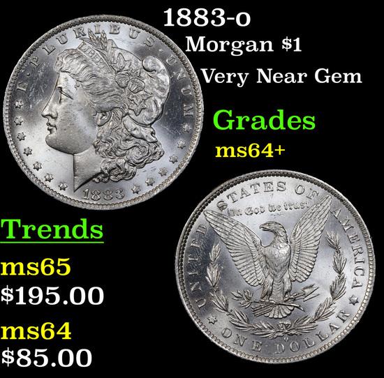 1883-o Morgan Dollar $1 Grades Choice+ Unc