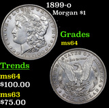 1899-o Morgan Dollar $1 Grades Choice Unc
