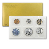 1962 United States Mint proof set in Original Government Packaging.