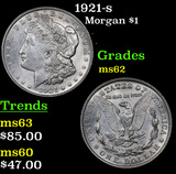 1921-s Morgan Dollar $1 Grades Select Unc