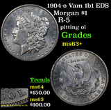 1904-o Vam 1b1 EDS Morgan Dollar $1 Grades Select+ Unc