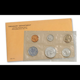 1961 United States Mint proof set in Original Government Packaging.