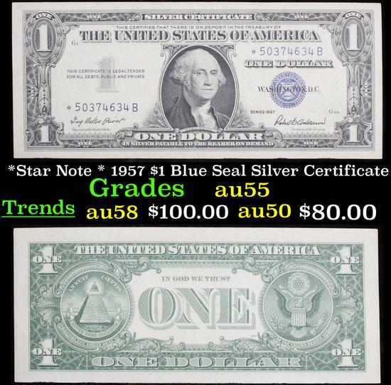*Star Note * 1957 $1 Blue Seal Silver Certificate Grades