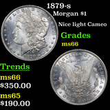 1879-s Morgan Dollar $1 Grades GEM+ Unc