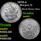 1879-o Morgan Dollar $1 Grades Select Unc