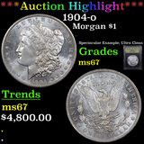 ***Auction Highlight*** 1904-o Morgan Dollar $1 Graded GEM++ Unc By USCG (fc)