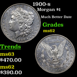 1900-s Morgan Dollar $1 Grades Select Unc