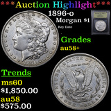 ***Auction Highlight*** 1896-o Morgan Dollar $1 Graded Choice AU/BU Slider+ By USCG (fc)