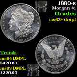 1880-s Morgan Dollar $1 Grades Select Unc+ DMPL