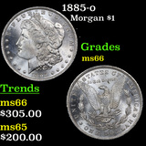 1885-o Morgan Dollar $1 Grades GEM+ Unc