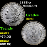1888-o Morgan Dollar $1 Grades Select Unc
