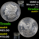 1880-s Morgan Dollar $1 Grades Select+ Unc