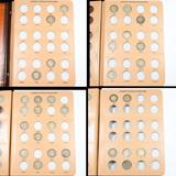 Partial Barber Quarter Book 1893-1915 32 coins