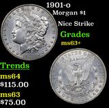 1901-o Morgan Dollar $1 Grades Select+ Unc