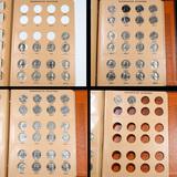 Partial Washington Quarter Book 1965-1998 63 coins