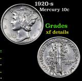 1920-s Mercury Dime 10c Grades xf details