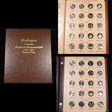 Complete Washington State Quarter Book 2004-2008 98 coins