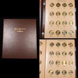 Near Complete Sacagawea Dollar Book 2000-2017 65 coins