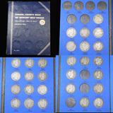 Barber Half Dollar Book 1906-1915 28 coins