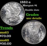 1882-s Morgan Dollar $1 Grades Unc Details