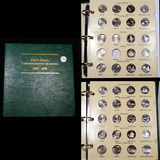 Near Complete Washington State Quater Book 2004-2008 98 coins