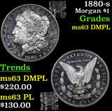 1880-s Morgan Dollar $1 Grades Select Unc DMPL