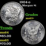 1904-o Morgan Dollar $1 Grades Select+ Unc