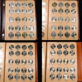 Complete Kennedy Half Dollar Book 1964-2017 100 coins