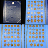Partial Lincoln Cent Book 1909-1940 65 coins