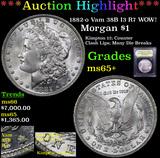 ***Auction Highlight*** 1882-o Vam 38B I3 R7 WOW! Morgan Dollar $1 Graded GEM+ Unc By USCG (fc)