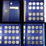 Near Complete Kennedy Half Book 1971-1991 40 coins