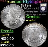 ***Auction Highlight*** 1879-s Morgan Dollar $1 Graded GEM++ Unc By USCG (fc)