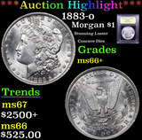 ***Auction Highlight*** 1883-o Morgan Dollar $1 Graded GEM++ Unc By USCG (fc)