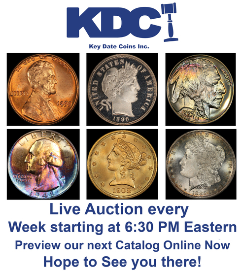 Overflowing Consignments Bonus Coin auction 1 of 2