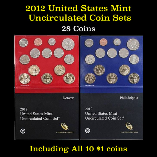 2012 United States Mint Set 28 Coins