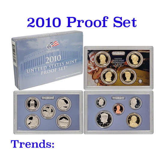 2010 United States Mint Proof Set - 14 Pieces!