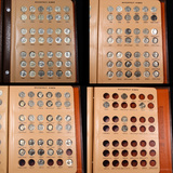 Complete Roosevelt Dime Book 1946-1990 126 coins