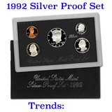 1992 United States Mint Silver Proof Set