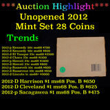 **UNOPENED** 2012 United States Mint Set 28 Coins