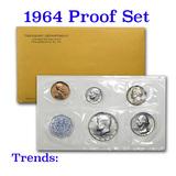 1964 Proof Set Original Packaging Including Mint Letter