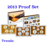 2013 United States Mint Proof Set - 14 Pieces!