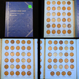 Partial Lincoln Cent Book 1909-1940 71 coins