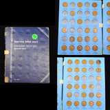 Partial Lincoln Cent Book 1909-1930 42 coins
