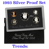 1993 United States Mint Silver Proof Set