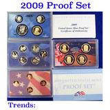 2009 United States Mint Proof Set - 18 Pieces!