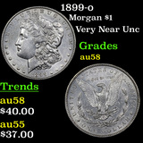 1899-o Morgan Dollar 1 Grades Choice AU/BU Slider