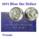 1971-s Silver Uncirculated Eisenhower Dollar