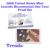 2009-s Lincoln Bicentennial United States Mint One Cent Proof Set