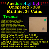 **UNOPENED** 2009 United States Mint Set 36 Coins