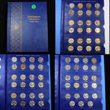 Complete Jefferson Nickel Book 1938-1964 71 coins